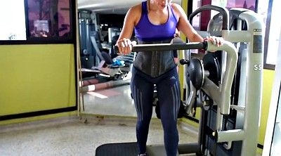 Gym, Hot milf