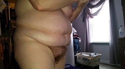 Hairy pussy, White lingerie, Hairy wife, Girdle, Big nipples, Bbw panties