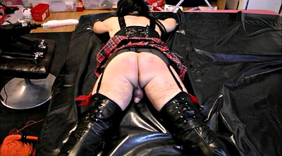 Crossdresser, Punished, Spanking punishment, Spank punishment