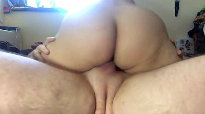 Bbw creampie, Bbw riding, Ass creampie