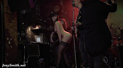Jeny smith, Bar, Stage, Girl on girl
