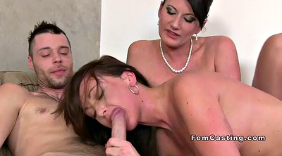 Female agent, Agent, Female, Casting threesome, Threesome casting, Female casting