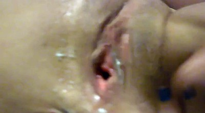 Creampie pov, Creampie close up