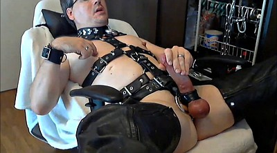 Pig, Big toy, Skin, Sex slave, Leather bdsm