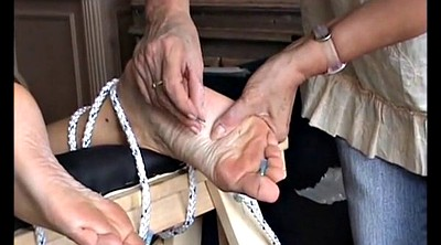 Needle, Mature feet, Mature foot, Extreme bdsm, Needles, Foot bdsm