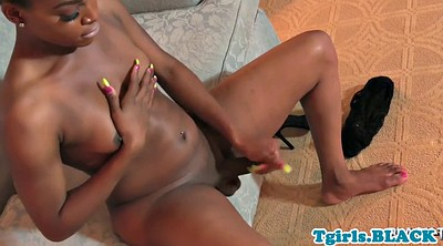 Squirting, Tgirl, Shemale ebony