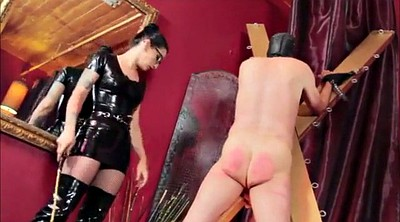 Spank, Caning, Latex slave