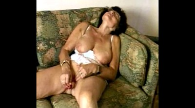 Mature women, Granny masturbating
