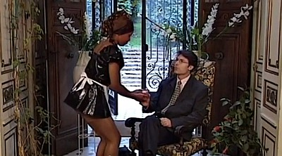 Pantyhose, Black pantyhose, Big ass pantyhose, French maid, Anal pantyhose