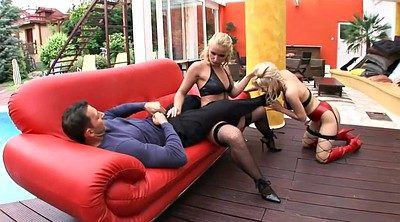 Bisexual, Nylon fuck, Nylon feet, Nylon outdoor