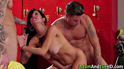 Veronica avluv, Locker room, Double facial, Avluv