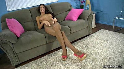 August ames, Pantyhose tease