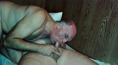 Mouth, Swallow compilation, Gay daddy