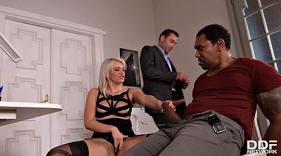 Black babes, In office, Threesome black