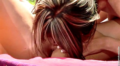 Licking pussy, Lesbian ass fingering