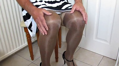 Masturbation nylon, Slip, Skirt