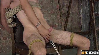 Handjob cum, Blindfold, Chair, Blindfolded