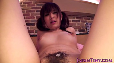 Japanese cute, Fuck, Very hairy, Very small, Asian whore