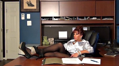 Secretary, Who, Milf pantyhose