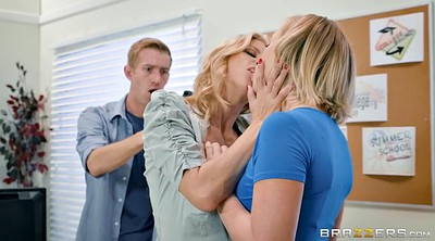 Teacher, Alexis fawx, Threesome kissing, Bailey brooke, Kissing threesome, Threesome bf