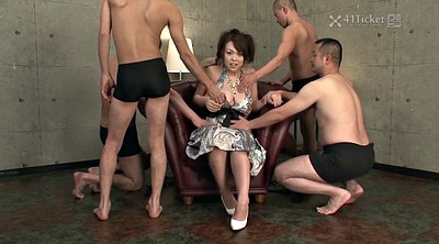 Uncensored, Interview, Asian gangbang, Japanese gangbang, Uncensored japanese, Interviews
