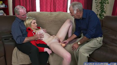 Shaved granny, Old pussy
