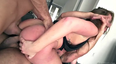 Double anal, Couple, Maddy, Huge anal, Erection