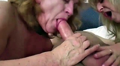 Bbw granny, Two old, Old dick