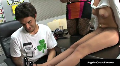 Foot job, Feet job, Angelina castro, Teacher feet