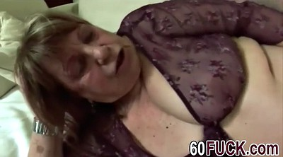 Fat man, Sucking granny, Mature handjob, Granny handjob