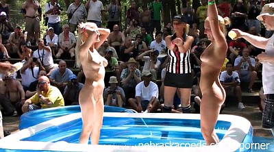 Nudist, Wrestling, Nudism, Oil wrestling, Nudists