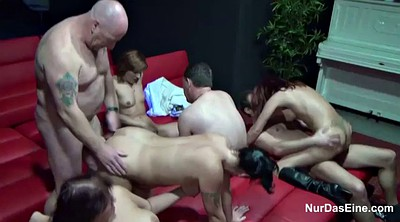 Old young, Teen gangbang, Club, Teen swingers