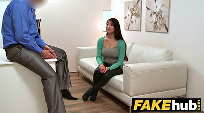 Fuck, Boobs, Fake agent, Fake casting, Big tit asians