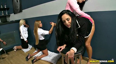 Ava addams, Big, Fuck, Nikki delano, Group sex orgy, Four