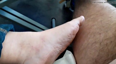 Bbw foot, Wife foot, Feet job