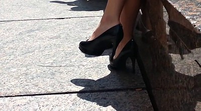 Candid, High, High heels, Shoe fetish, High-heeled shoes, High shoes