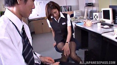 Asian pantyhose, Asian office