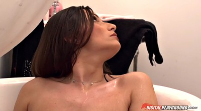 Maid, The maid, Wife tits, Wife shower, Ignore