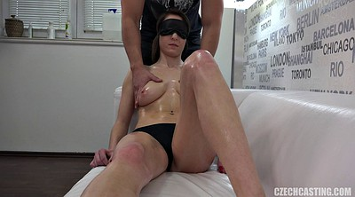 Blindfolded, Oil massage, Blindfold, Czech massage