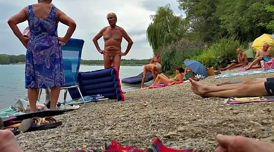 Nudist, Grandpa, Beach nudist