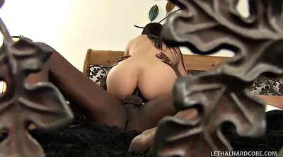 Interracial, First time anal, First anal