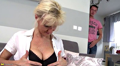 Saggy tits, Young mom, Old mom, Big mature