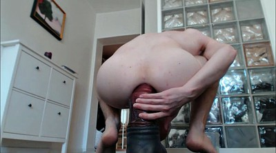 Gaping pussy, Gay fist