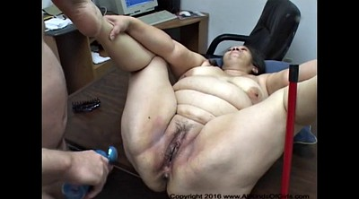 Bbw, Granny anal, Abused, Abuse
