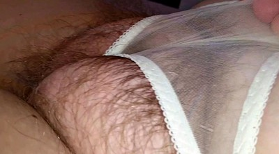 Hairy wife, Cum shot
