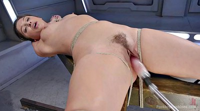 Fucking machines, Machine orgasm, Sybian, Solo hairy, Tie up, Orgasm machine