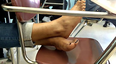 Friend, Candid, Ebony feet, Black black