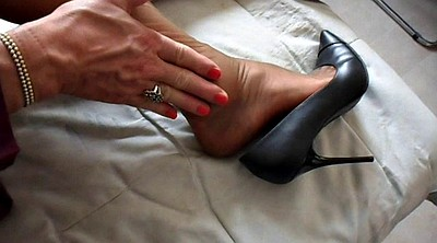 Nylon foot, Nylon shoe, Shoe feet, Office feet, Office foot