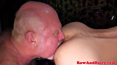 Cum in mouth, Nipples hairy