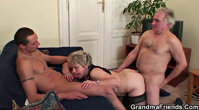 Mature orgy, Granny group